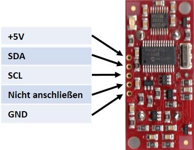 SRF08 Ultrasonic Range sensor with I2C bus | Raspberry Pi