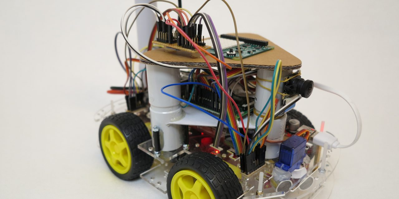 Raspberry Pi self-driving robot