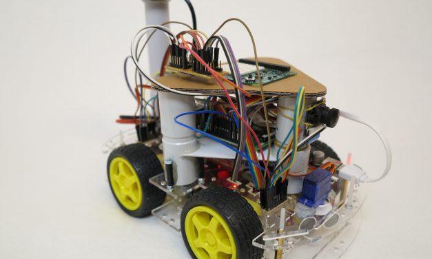Raspberry Pi self-driving robot