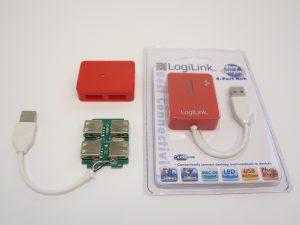 custom build security robot - mini USB Hub