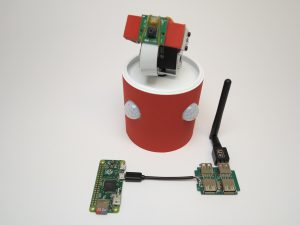 custom build security robot - mini USB Hub with mico USB cable