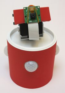 custom build security robot - IR-sensors and Pan&Tilt kit