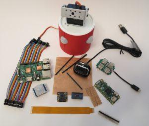 Security-robot hardware setup