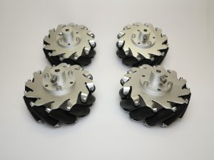 Robot Mecanum Wheels 2