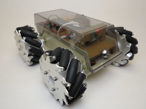 Robot with Mecanum Wheels 1