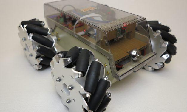 Roboter Projekt Beschreibung – Mecanum Rädern