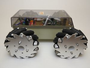 Robot with Mecanum Wheels 2