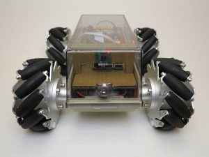 Robot with Mecanum Wheels