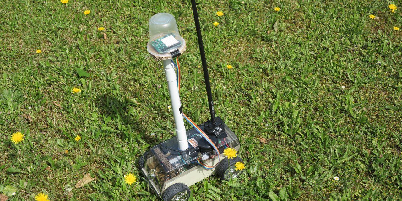 Raspberry Pi self-driving robot-car