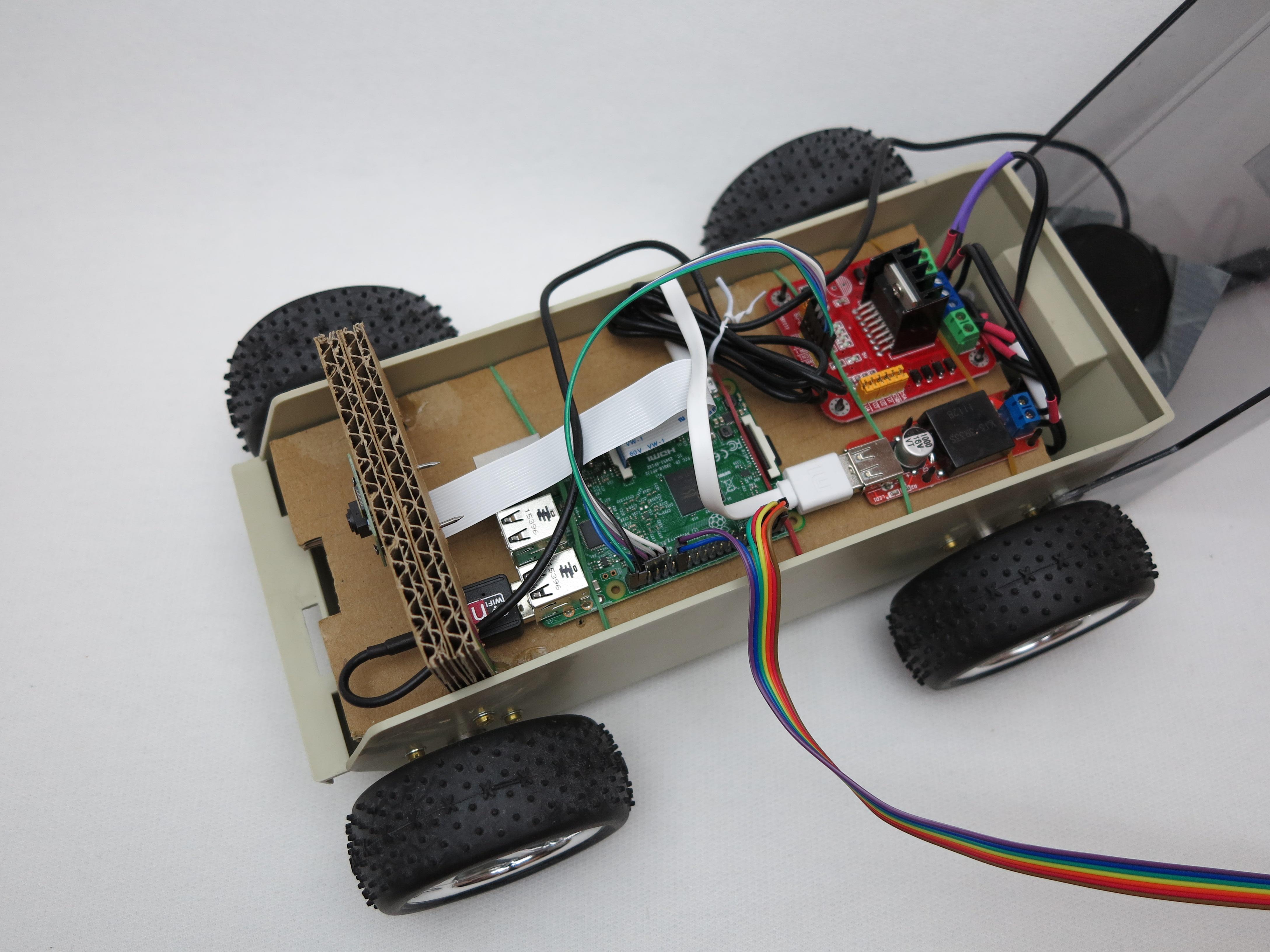raspberry pi roboter autonom fahrendes roboter auto. Black Bedroom Furniture Sets. Home Design Ideas