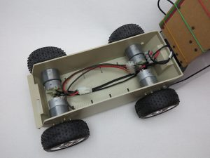 Raspberry Pi self-driving robot-car 15