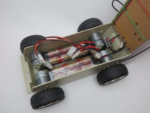 Raspberry Pi self-driving robot-car 16