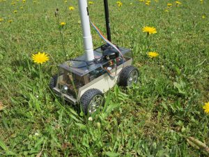 Raspberry Pi self-driving robot-car 2