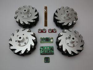 ZeroBorg motor controller - robot-car components