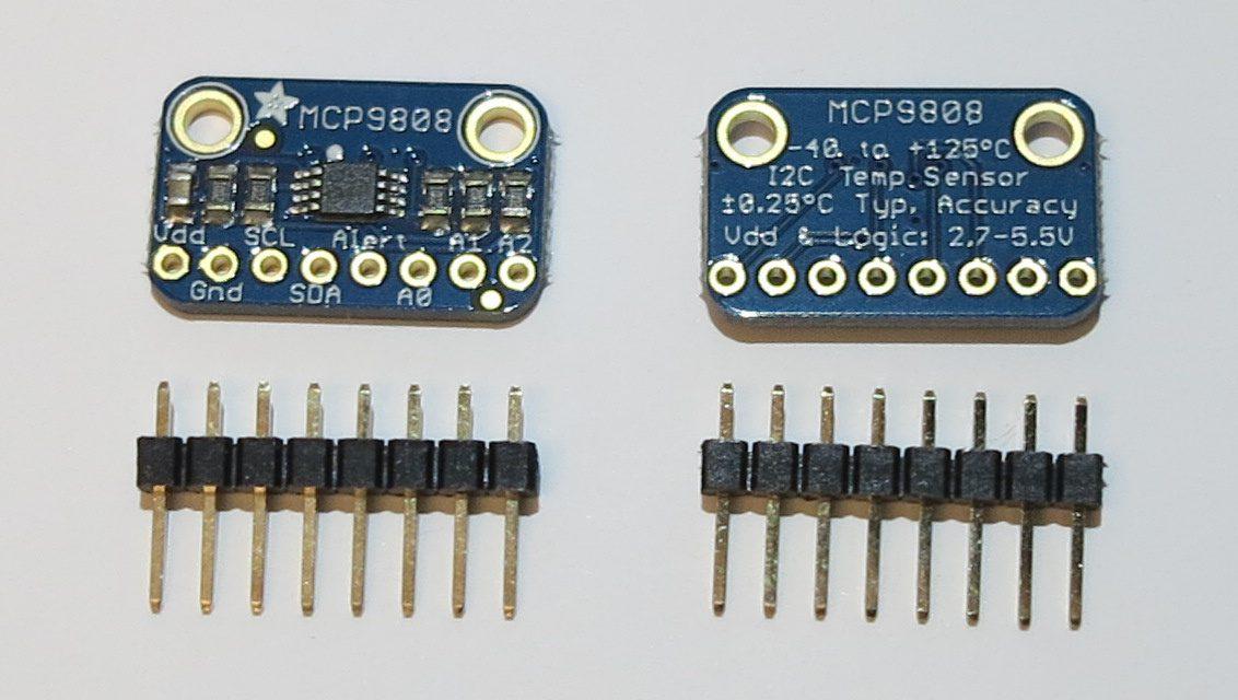 Raspberry Pi Temperatursensor – MCP9808 Sensor mit I2C Bus