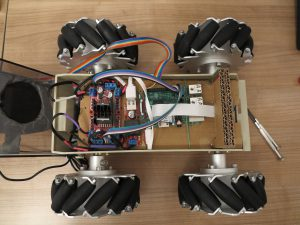 Raspberry Pi Robot Mecanum Wheels