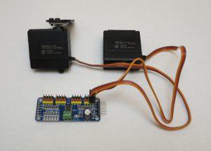16 Kanal Servo Kontroller I2C Schnittstelle Servo Motoren