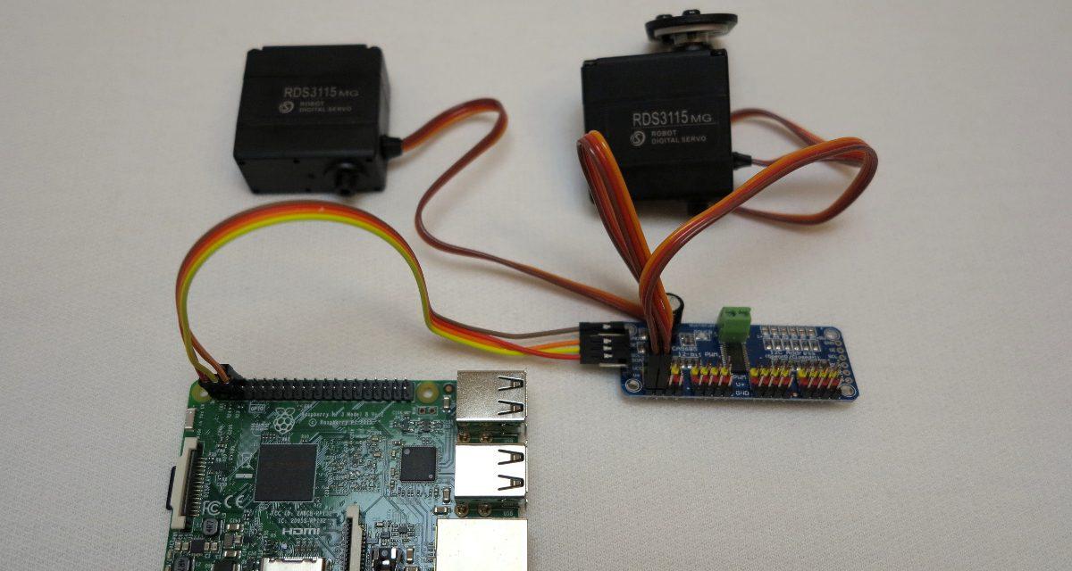 16-Kanal PCA9685 Servo Kontroller – Teil 2 Software Installation und Test