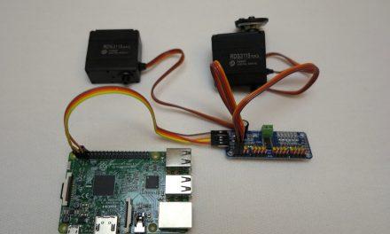 16-Kanal12-bit PWM Raspberry Pi Servo Kontroller – Teil 2 Software Installation und Test