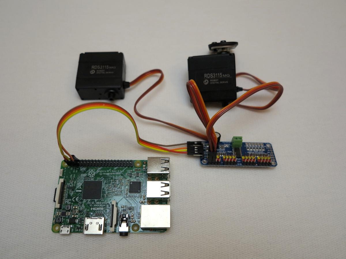 16-Kanal PCA9685 Servo Kontroller – Teil 1 Einführung und