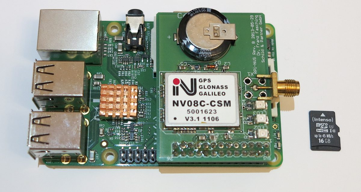 Precise GPS GNSS positioning with a Raspberry Pi and the RTKLIB – software installation