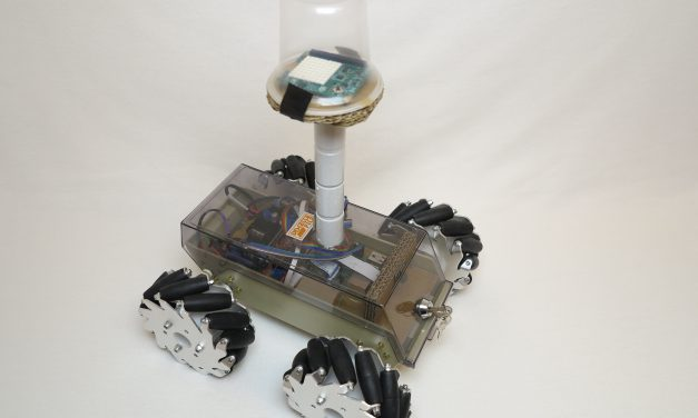 Raspberry Pi full assembled robot with mecanum wheels