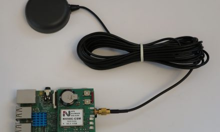 Precise GPS GNSS positioning with a Raspberry Pi and the