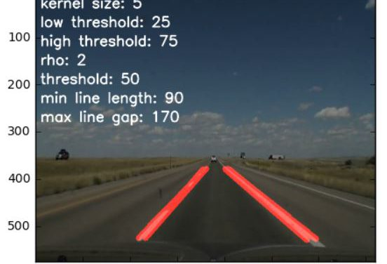 Finding Lane Lines on the Road