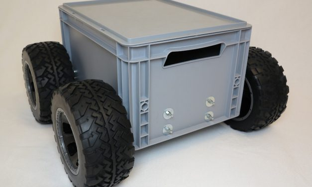Big Rob – A Raspberry Pi powered robot