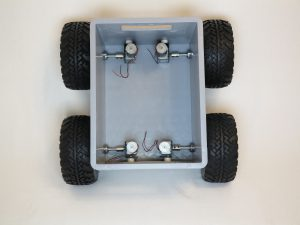 Big Rob robot 4x4 dc motors