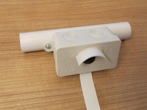 Raspberry Pi robot - outdoor camera case mount