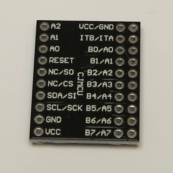 Raspberry Pi – MCP23017 bi-directional 16-Bit I/O Expander