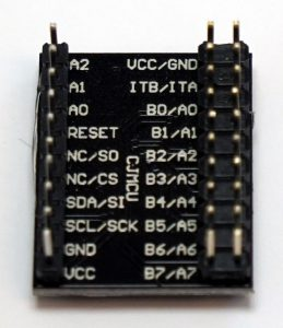 Raspberry Pi MCP23017 back numbering