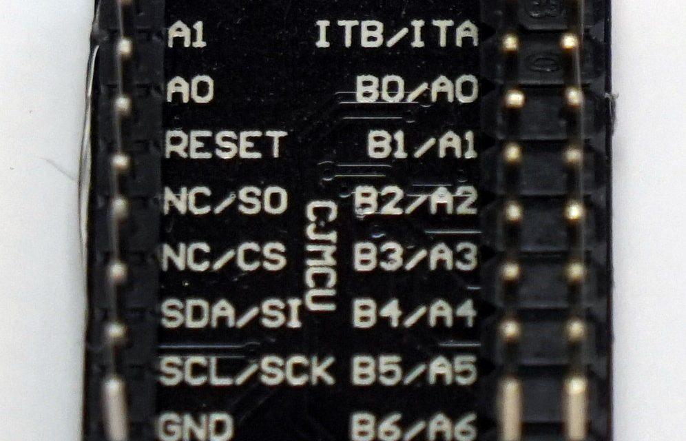 Raspberry Pi – MCP23017 Bidirektionaler 16-Bit I/O Expander mit I2C Bus
