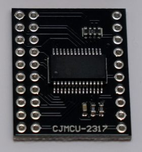 Raspberry Pi MCP23017 front chip