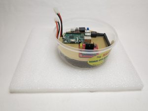 Raspberry Pi amphibious all terrain robot vehicle plastic box