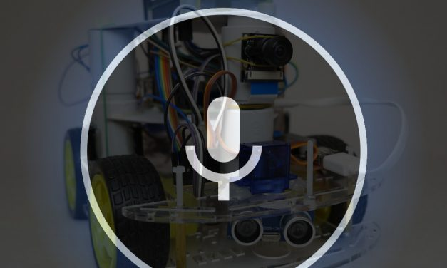 Amazon Alexa sprachgesteuerter Roboter