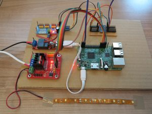 Raspberry Pi - LED dimmer