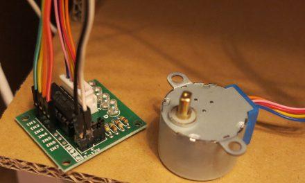 Schrittmotor 28BYJ-48 – ULN2003A Kontroller – Raspberry Pi und Python