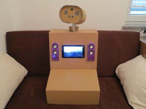 Raspberry Pi - toy robot body
