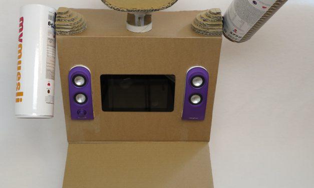 Raspberry Pi Kinder Roboter – Teil 2 Roboter – Arme