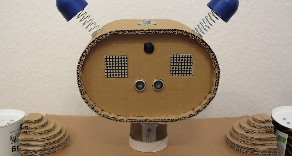 Raspberry Pi Kinder Roboter – Teil 1 Roboter – Arme