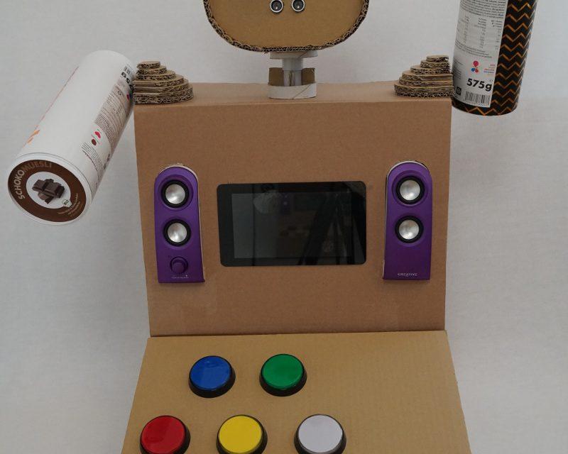 Raspberry Pi Kinder Roboter – Robotersteuerung Teil 1