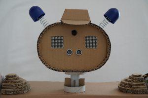 Kinder Roboter - Kopf