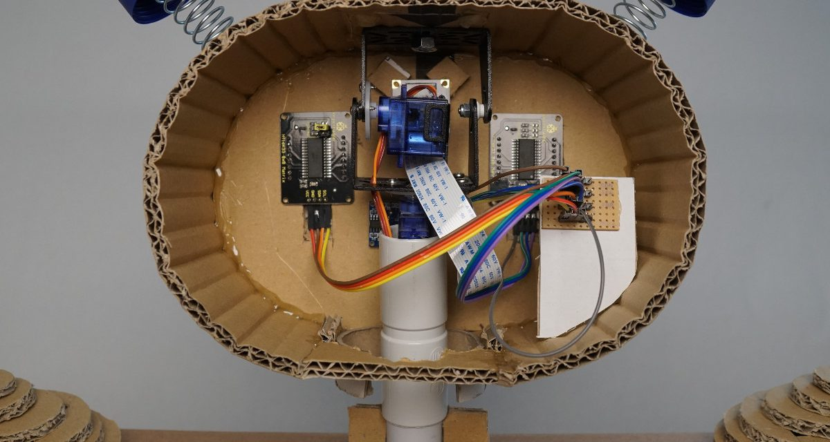 Raspberry Pi Kinder Roboter – Teil 1 Kopf