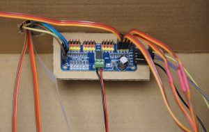 Toy robot - servo controller pca9685