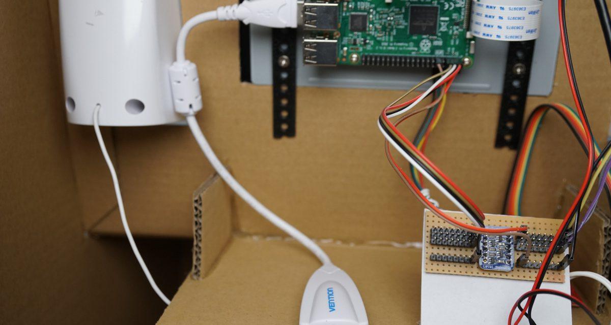 Raspberry Pi Kinder Roboter – Teil 2 Ausstattung