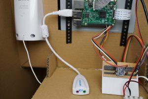 Toy robot - usb sound card