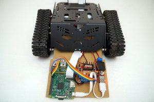 Devastator Tank Mobile Robot Platform - electronics
