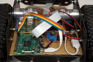 Devastator Tank Mobile Robot Platform - electronics detail